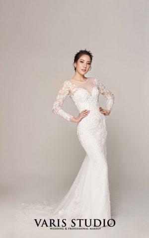 ชุดแต่งงาน ชุดเจ้าสาวให้เช่า Classic Vibe Collection No.2 set 6-2