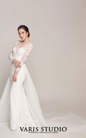 ชุดแต่งงาน ชุดเจ้าสาวให้เช่า Classic Vibe Collection No.2 set 6-5