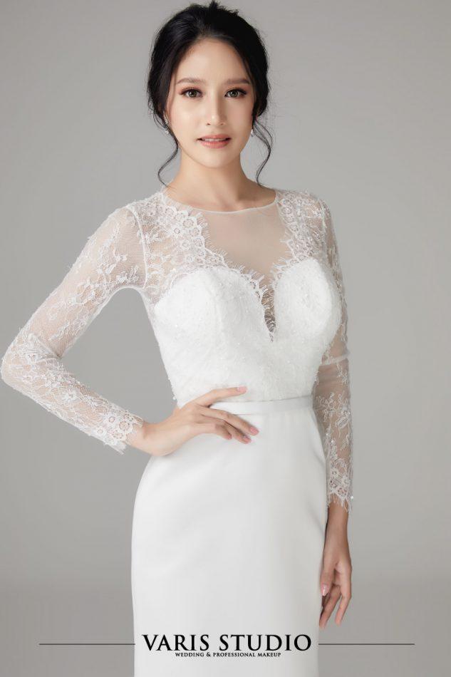 0074W ชุดแต่งงานให้เช่า ชุดเจ้าสาวให้เช่า